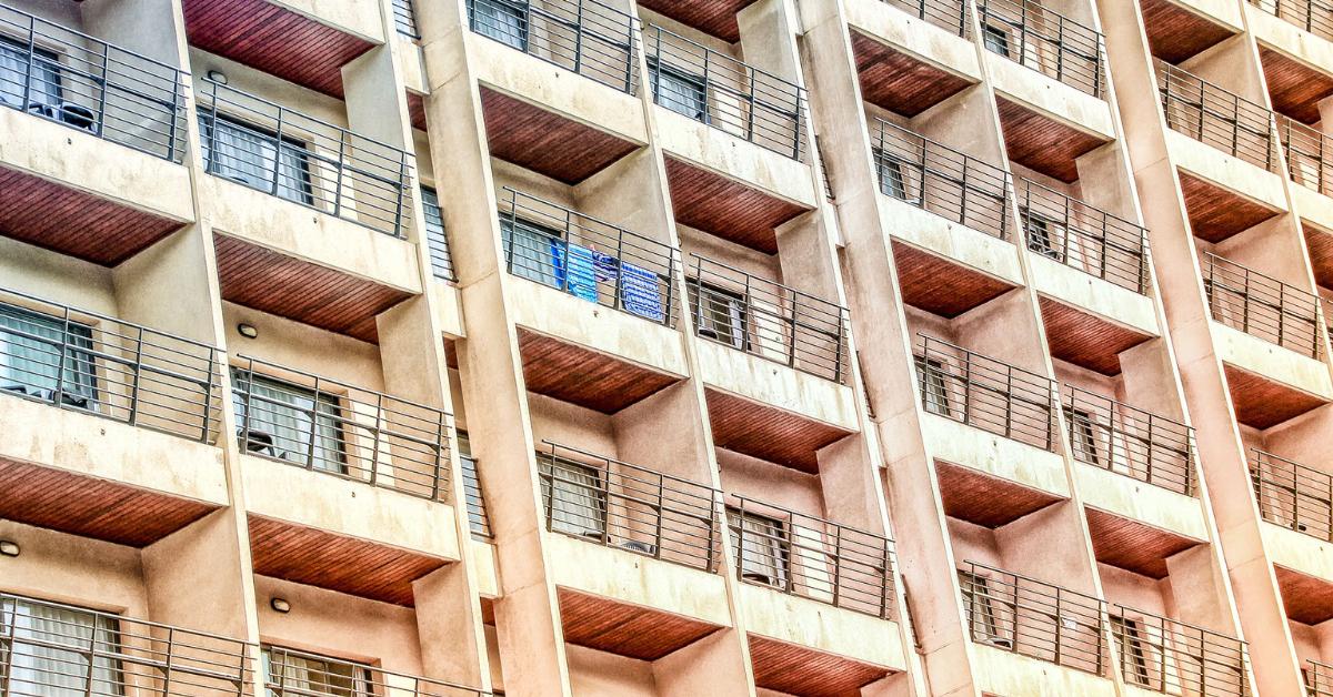 balcone condominiale